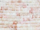 Pink Opal Square Heishi Gemstone Beads 4-6mm (GS3733)