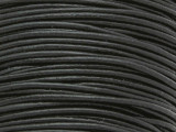 "Black Leather Cord 1.5mm - 36"" (LR66)"