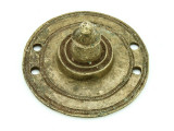 Old Brass Medallion 43mm - Ethiopia (ME432)
