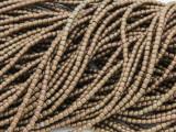 Bronze Electroplated Hematite Barrel Gemstone Beads 2mm (GS3777)