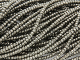 Iron Pyrite Faceted Rondelle Gemstone Beads 2.5mm (GS3780)