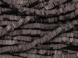 Dark Bronze Electroplated Hematite Square Heishi Gemstone Beads 4mm (GS3799)