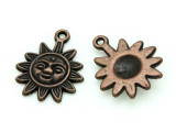 Copper Sun - Pewter Charm 21mm (PW1174)