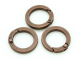 Copper Pewter Clasp 26mm (PB730)