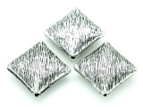 Pewter Bead - Diamond 30mm (PB771)