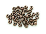 Copper Pewter Bead - Round 2mm (PB795)