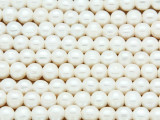 Ivory Irregular Round Pearl Beads 7mm (PRL176)