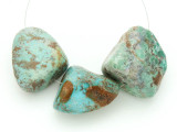 Large Turquoise Focal Beads 18-33mm (TUR1214)