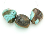 Large Turquoise Focal Beads 18-31mm (TUR1230)