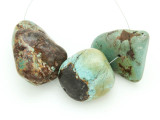 Large Turquoise Focal Beads 10-41mm (TUR1262)