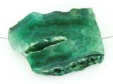 Green Druzy Agate Pendant 43mm (GSP1461)