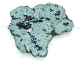 Electroplated Druzy Agate Pendant 70mm (GSP1553)