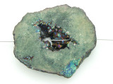 Electroplated Druzy Agate Pendant 49mm (GSP1575)