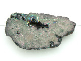 Electroplated Druzy Agate Pendant 50mm (GSP1590)