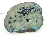 Electroplated Druzy Agate Pendant 50mm (GSP1608)
