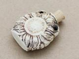 Sunflower Ceramic Cork Bottle Pendant 36mm (AP1897)