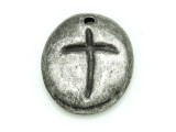Cross - Pewter Pendant 30mm (PW860)