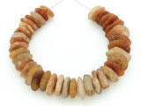 Old Quartz Disc Beads 11-17mm - Mali (AT7175)