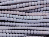 Periwinkle Glass Maasai Trade Beads 5-6mm (AT7185)