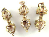 Brass Dorje Tibetan Amulet 40mm (TB387)
