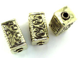 Brass Rectangular Tibetan Bead 30mm (TB492)