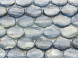 Kyanite Oval Tabular Gemstone Beads 16mm (GS4026)