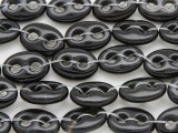 Onyx Oval Connector Gemstone Beads 18mm (GS4031)