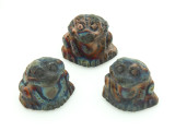 Frog Raku Ceramic Bead 16mm - Peru (CER132)