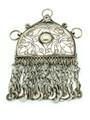 Afghan Tribal Silver Pendant - Amulet 117mm (AF517)