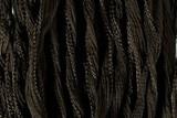 "Dark Olive Hand Stitched Silk Fairy Ribbon 42"" (SK1024)"