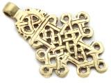 Brass Coptic Cross Pendant - 68-70mm (CCP633)
