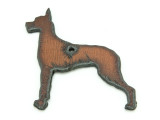 Great Dane - Rustic Iron Pendant (IR190)