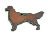 Golden Retriever - Rustic Iron Pendant (IR192)