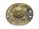 Old Brass Medallion 54mm - Ethiopia (ME444)