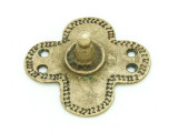 Old Brass Medallion 46mm - Ethiopia (ME445)