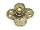 Old Brass Medallion 45mm - Ethiopia (ME448)
