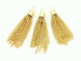 Tassel Pendant - Gold Plated Chain 60mm (AP1903)
