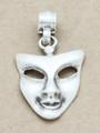 Mask Metal Pendant 47mm (AP1906)