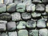 Kambaba Jasper Square Tabular Gemstone Beads 12mm (GS4178)