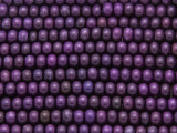 Purple Howlite Rondelle Gemstone Beads 6mm (GS4194)
