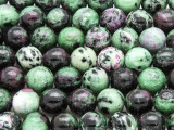 Ruby Zoisite Round Gemstone Beads 10mm (GS4214)