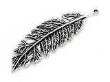Feather - Pewter Pendant 71mm (PW889)
