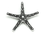 Starfish - Pewter Pendant 58mm (PW901)