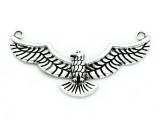 Flying Bird - Pewter Pendant 62mm (PW904)