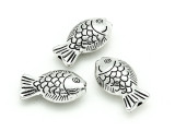 Pewter Bead - Fish 22mm (PB803)