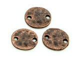 Copper Pewter Bead - Connector 10-11mm (PB839)