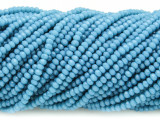 Turquoise Blue Crystal Glass Beads 2mm (CRY288)