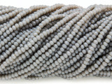 Warm Gray Crystal Glass Beads 2mm (CRY297)
