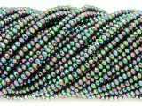Jeweltone Multi-Color Crystal Glass Beads 2mm (CRY313)