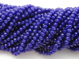 Blue Crystal Glass Beads 4mm (CRY343)